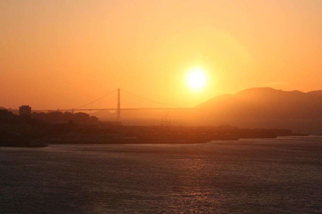 Golden Gate Bride, San Fransisco, 2014