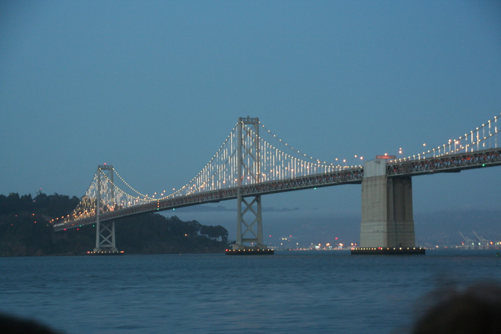 Bay Bridge, San Fransisco, 2014